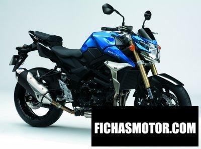 Изображение мотоцикла Suzuki gsr 750 год 2012