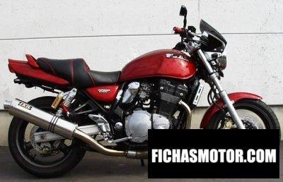 Imagen moto Suzuki gsx 1200 año 2000