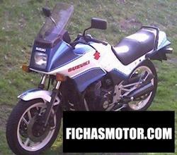 Imagen moto Suzuki gsx 550 es 1987