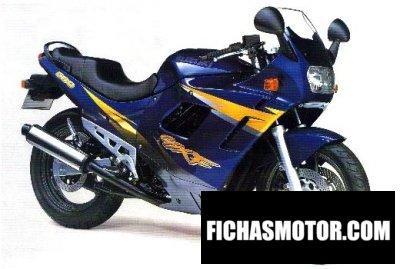 Ficha técnica Suzuki gsx 600 f 1997