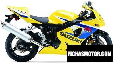 Imagen moto Suzuki gsx-r 600 año 2005