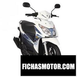 Imagen moto Suzuki hayate 125 fi 2014