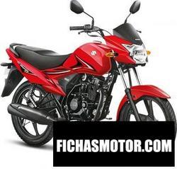 Imagen moto Suzuki hayate ep 2017