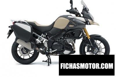 Imagen moto Suzuki v-strom 1000 desert año 2015