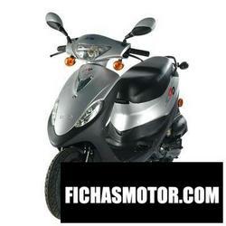 Imagen moto Sym dd 50 2010