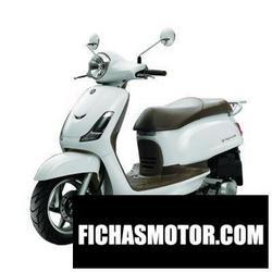 Imagen moto Sym fiddle ii 50 2011