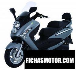 Imagen moto Sym gts 250i 2008