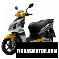 Imagen moto Sym jet 4 50 2012