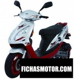 Imagen moto Sym jet red devil 50 2008