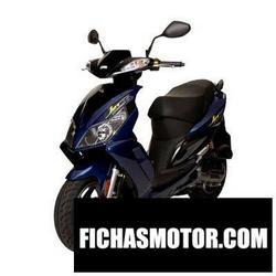 Imagen moto Sym jet sportx 50 Factory 2010