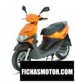 Imagen moto Sym mask 50 2007