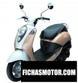 Imagen moto Sym mio 100 2008