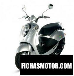 Imagen moto Sym mio 50 2007