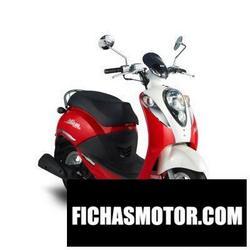 Imagen moto Sym mio 50 2012