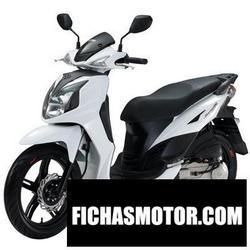 Imagen moto Sym symphony 125 2011