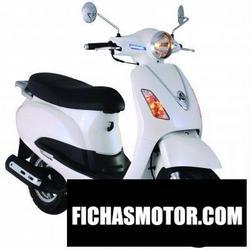 Imagen moto Sym vs 125 2008