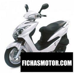Imagen moto Sym vs excel ii 150 cc 2007