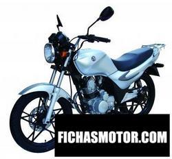 Imagen moto Sym xs125-k 2008