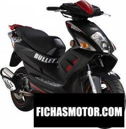 Imagen moto Tgb bullet 125 2010