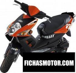 Imagen moto Tgb bullet 50 2010