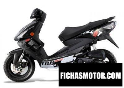 Imagen moto Tgb bullet basic 50 año 2012