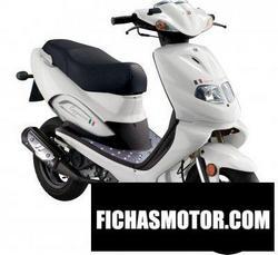 Imagen moto Tgb cappuccio 50 2010