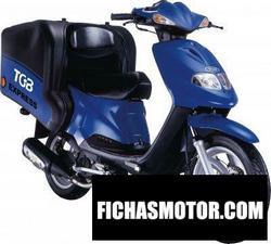 Imagen moto Tgb express 50 2010