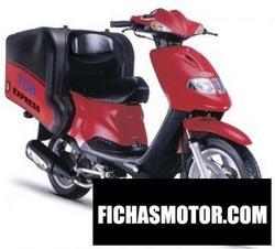 Imagen moto Tgb express 50 2011