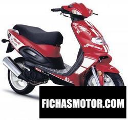 Imagen moto Tgb hawk 125 2008
