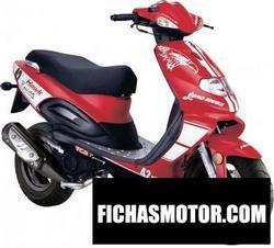 Imagen moto Tgb hawk 125 2010