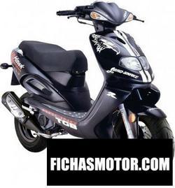 Imagen moto Tgb hawk 50 2010