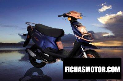Imagen moto Tgb octane 50 4t año 2008