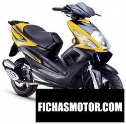 Imagen moto Tgb r125x 2008