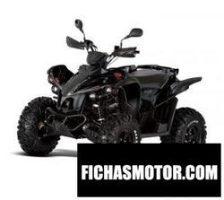 Imagen moto Tgb target 550 irs 2011