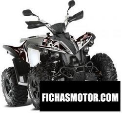 Imagen moto Tgb target 550 irs 4x4 2012