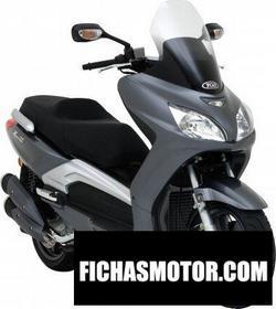 Imagen moto Tgb x motion 125 efi 2010