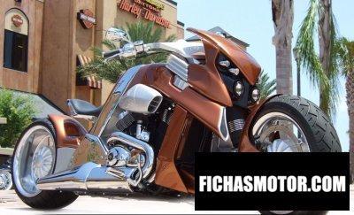 Imagen moto Travertson v-rex año 2010