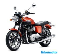 Imagen moto Triumph bonneville se 2011