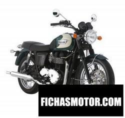 Imagen moto Triumph bonneville t100 2009