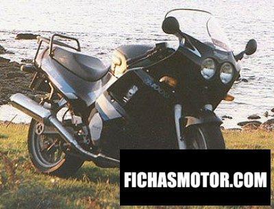 Ficha técnica Triumph daytona 1000 1991