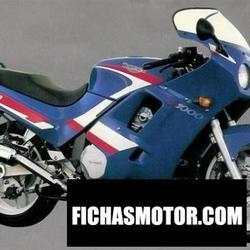 Imagen moto Triumph daytona 750 (reduced effect #2) 1991
