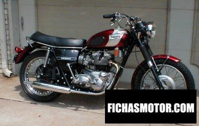 Imagen moto Triumph t 150 v trident 750 año 1970