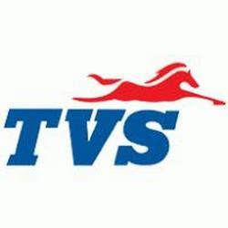 Logo de la marca TVS