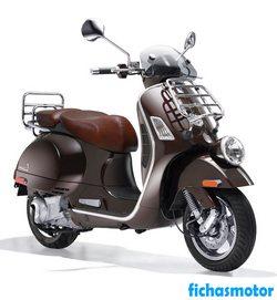 Imagen moto Vespa gtv 300 2011