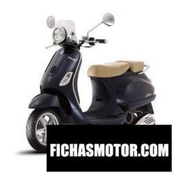 Imagen moto Vespa lx 50 navy 2009