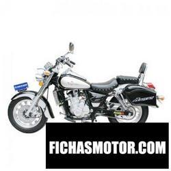 Imagen moto Xingyue xy400 2011