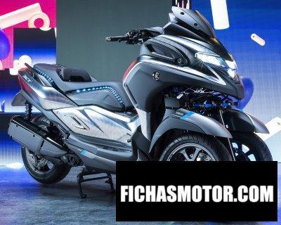 Ficha técnica Yamaha 3CT Concept 2019