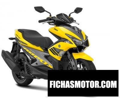 Ficha técnica Yamaha aerox 155vva 2018