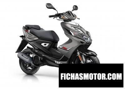 Ficha técnica Yamaha aerox 4 2015