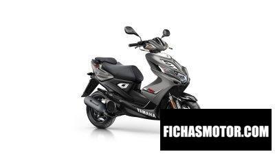 Ficha técnica Yamaha aerox 4 2016